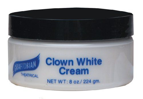 This is my favorite product. Not sure how you feel aboutGraftobian  Clown White Creme Foundation 8 oz White 8 oz -- You can find more details by visiting the image link.