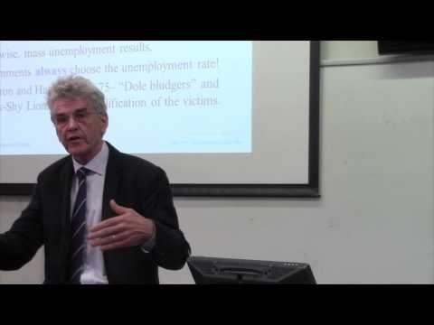 Professor William Mitchell - Fiscal Myths