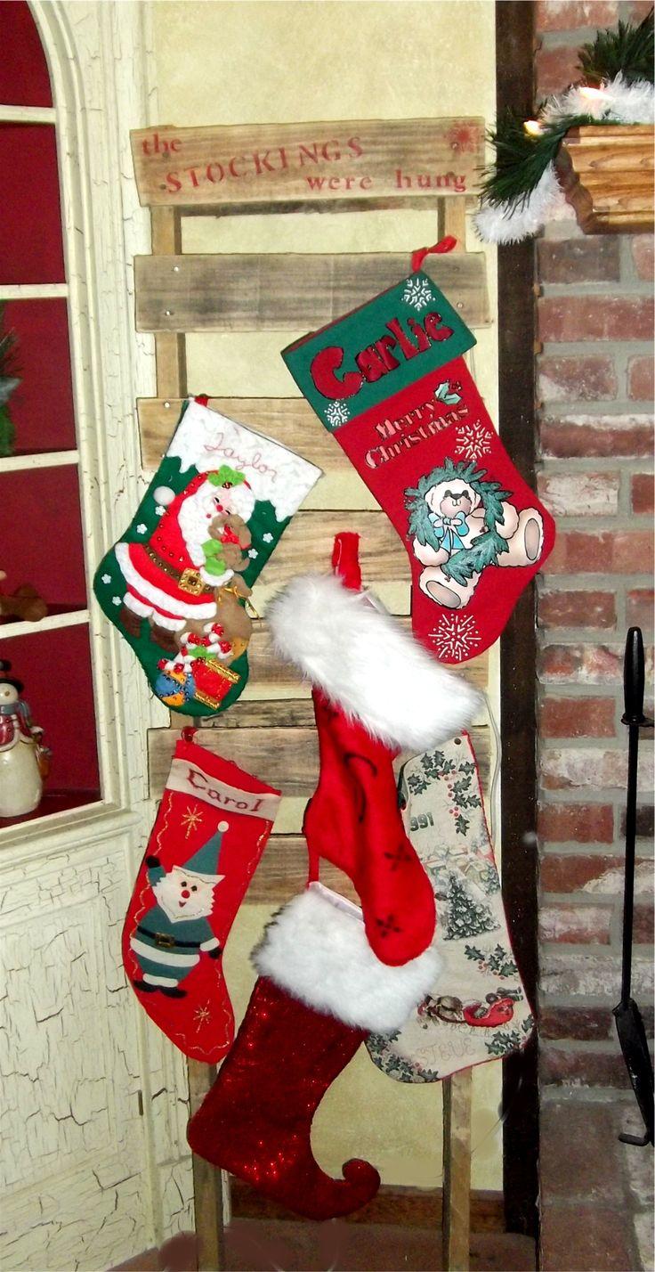 Standing Christmas Stocking Holders