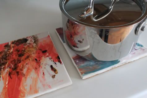 Here's a gift I think even the coolest childless Uncle would appreciate: a trivet featuring your kid's artwork! It's kid-cuteness in a modern and useful package. And j…
