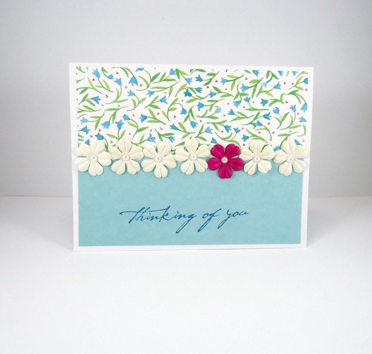 Thinking of You sympathy card, Condolence, Bereavement, Sorry For Your Loss, Floral, Flowers, Loved One, Parent, Mother, Father, Dog Cat Pet by PiecesOfMePaperCraft on Etsy https://www.etsy.com/listing/492204259/thinking-of-you-sympathy-card-condolence