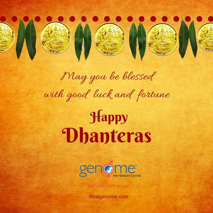 ✨ Wishing you Happy Dhanteras ✨  http://www.lifeatgenome.com  #dhanteras #festivals #lifeatgenome