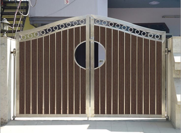 Wood Plastic Composite Doors and Out Gates | Wudlon