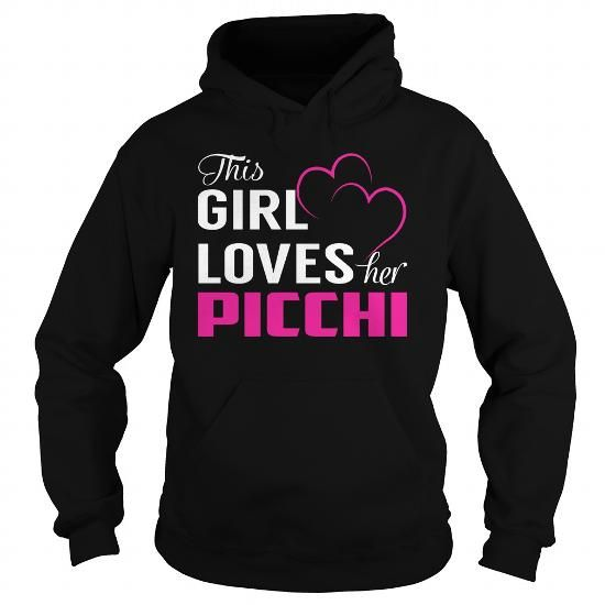 This Girl Loves Her PICCHI Pink #name #tshirts #PICCHI #gift #ideas #Popular #Everything #Videos #Shop #Animals #pets #Architecture #Art #Cars #motorcycles #Celebrities #DIY #crafts #Design #Education #Entertainment #Food #drink #Gardening #Geek #Hair #beauty #Health #fitness #History #Holidays #events #Home decor #Humor #Illustrations #posters #Kids #parenting #Men #Outdoors #Photography #Products #Quotes #Science #nature #Sports #Tattoos #Technology #Travel #Weddings #Women