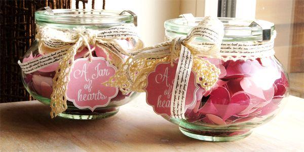 BeeCreative: DIY: a Jar of hearts