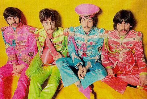 The Beatles - Ringo, John, Paul, & George as Sgt. Pepper's Lonely Hearts Club Band