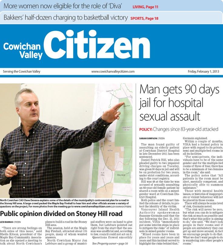 Citizen Front Page Feb. 1, 2013