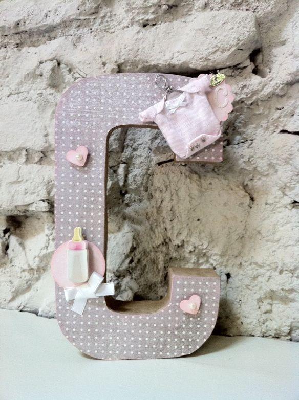 17 best images about letras decorativas on pinterest - Letras para decorar ...