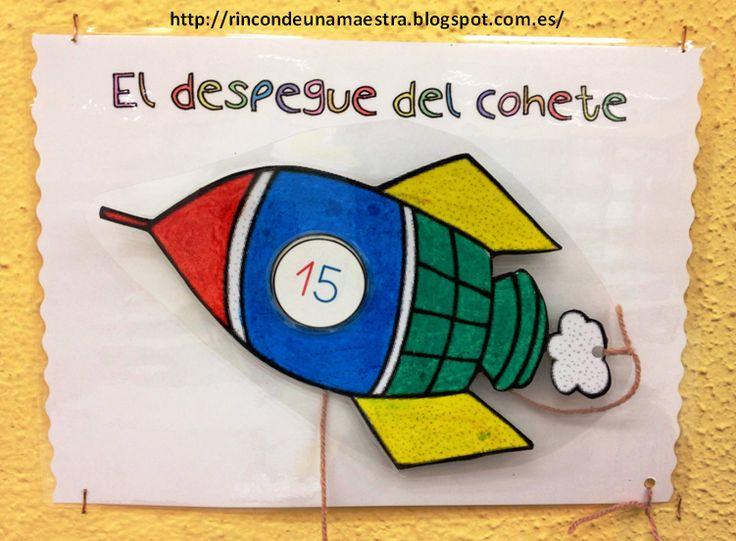 Rincón de una maestra: El despegue del cohete