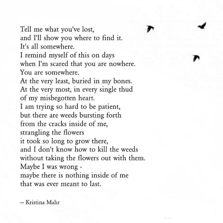 Somewhere - Kristina Mahr