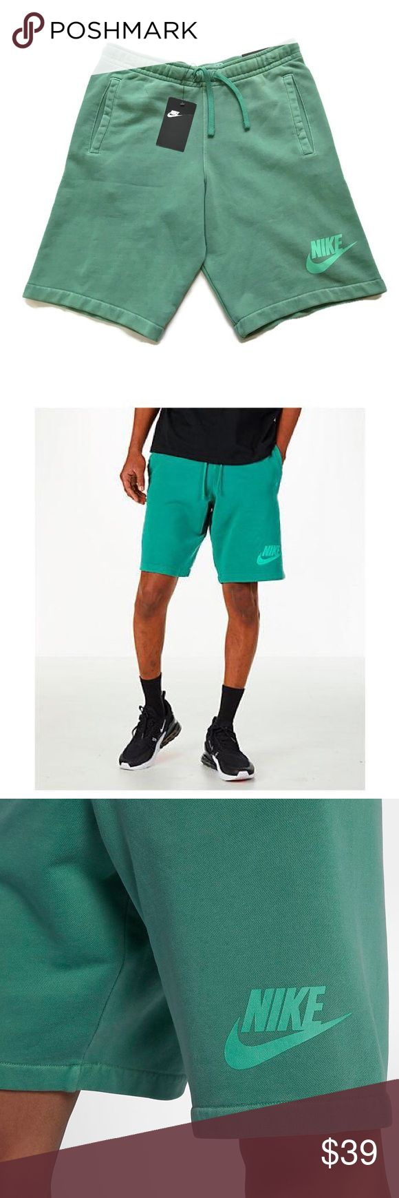 NWT Herren French Terry Shorts – Grün NWT Herren Small grün French …   – My Posh Picks