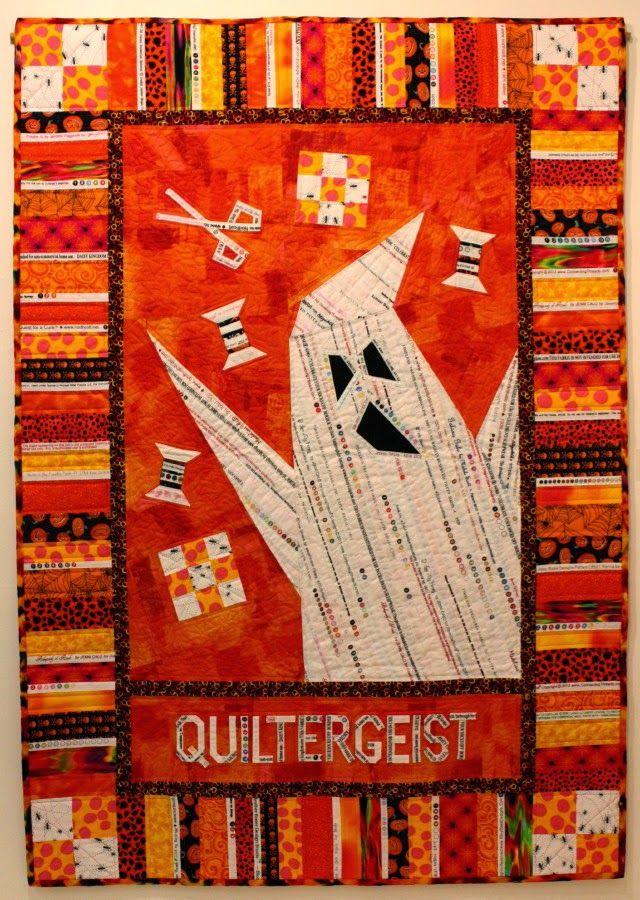 Quiltergeist by Riel Nason. Original Design Selvage Quilt 2014