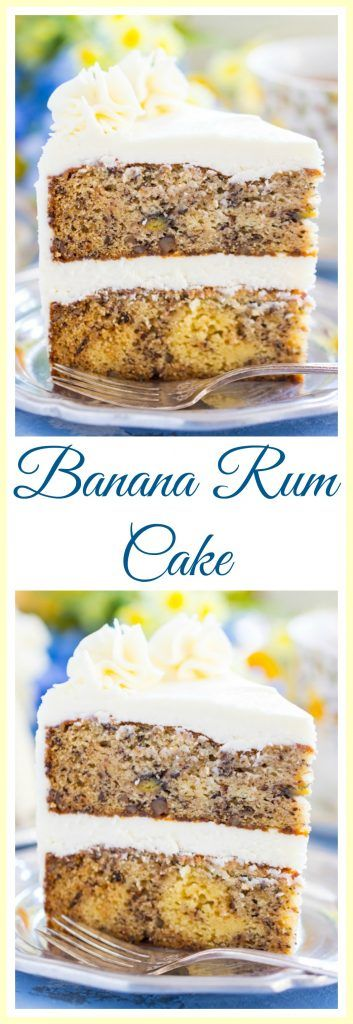 Banana Rum Cake