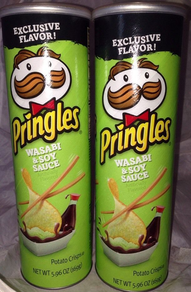 2 exclusive flavor pringles in wasabi amp soy sauce 5