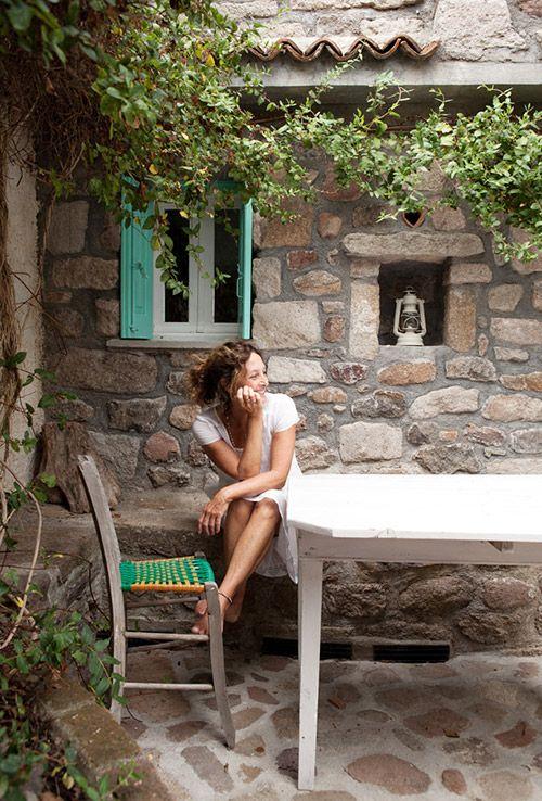 Claire Lloyd's Greek Island Home
