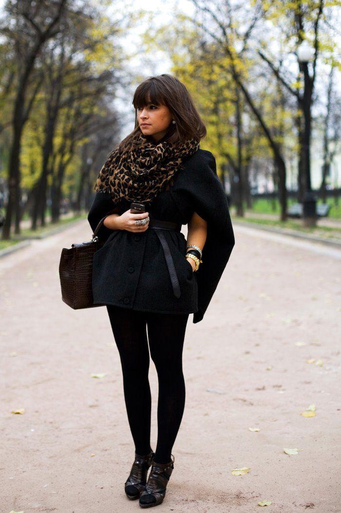 Miroslava Duma : Fashion, Street Style, Outfit, Miroslavaduma, Styles, Miroslava Duma, Scarf, Leopard