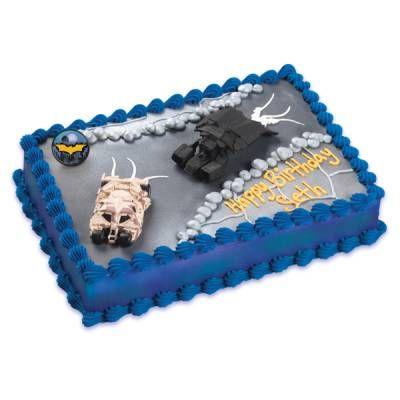 Publix Dark Knight Rises Cake Batman Birthday Party ...