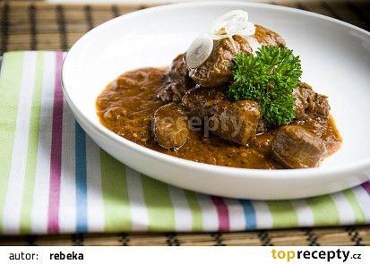 Kančí guláš II. recept - TopRecepty.cz