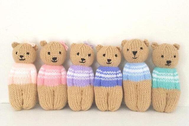 8 Cutest Teddy Bears Free Knitting Patterns | Teddy bear ...