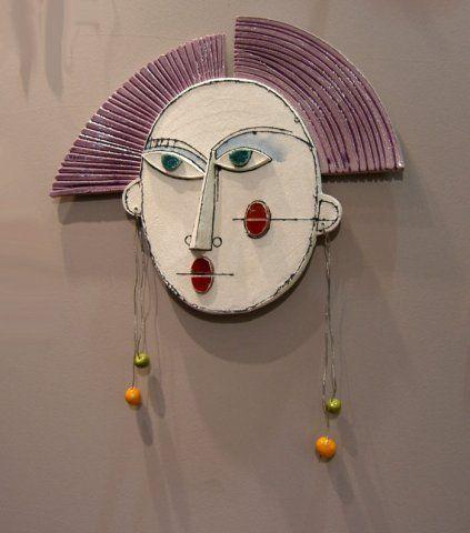 small wall art anastasaki opto contemporary ceramics
