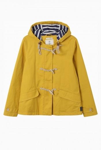 Mustard Duffle Coat - Coat Nj