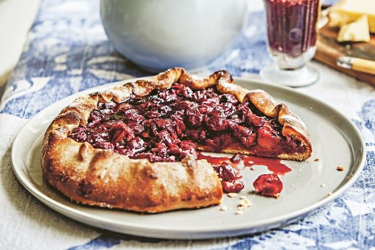 """I have had great success using preserved pitted sour cherries in syrup when fresh cherries aren't available for this tart. The bottling syrup can be reduced to glaze the finished tart."" - Stephanie Alexander.  This recipe is an extract from Stephanie Alexander's latest cookbook, The Cook's Table."