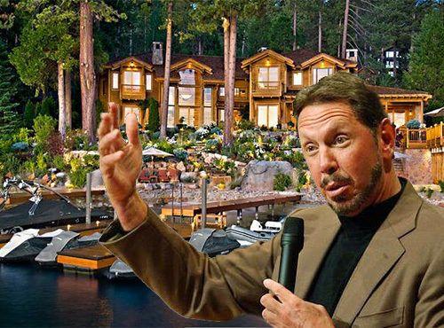 Larry Ellison Lists Lake Tahoe Mansion For 28 5m Lake
