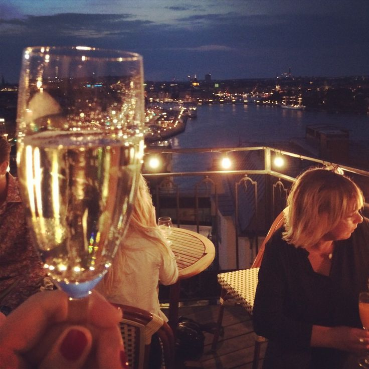 Sjuan - Stockholm Night View
