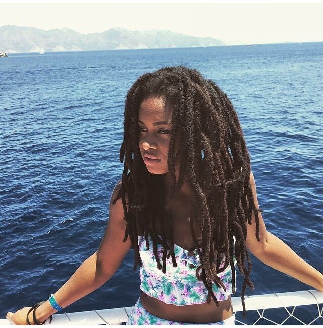 Olivia Davina @xoliviadavinax || women with locs. black women with locs. long…