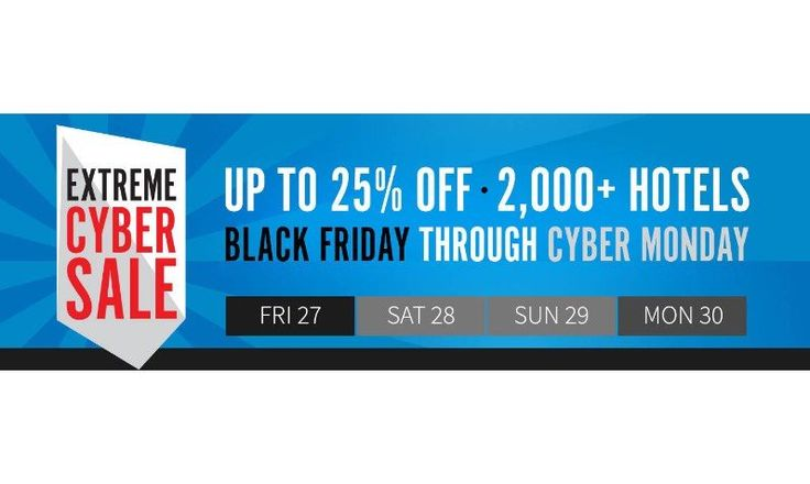 25% Off Cyber Monday Coupon at Marriott Hotels - EDEALO