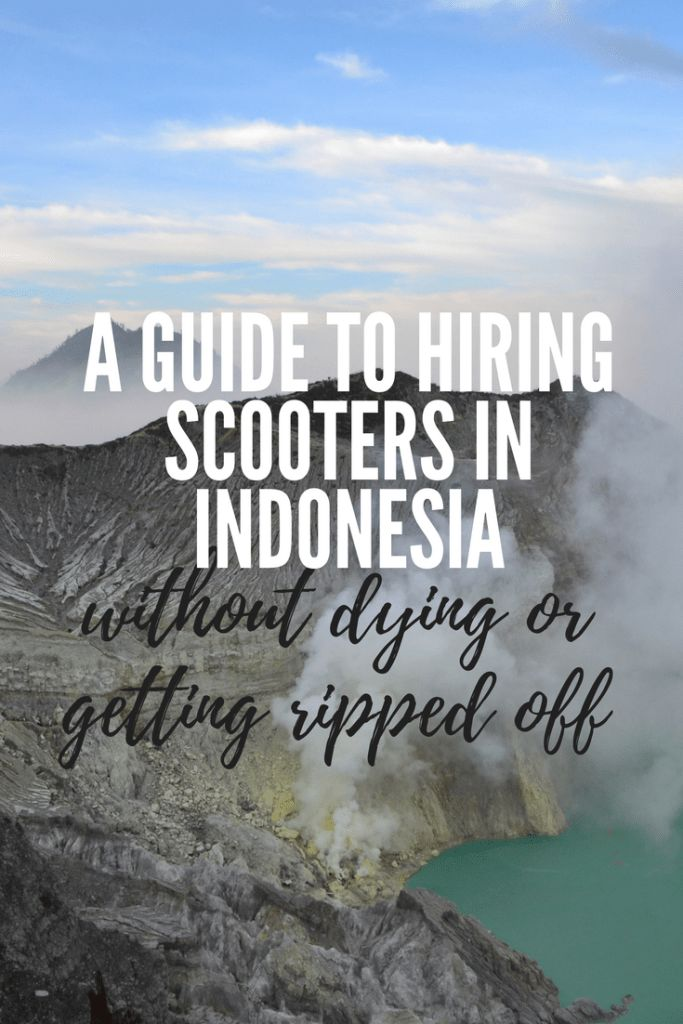 A guide to hiring scooters in Indonesia (without dying or being ripped off) - Grad Gone Global