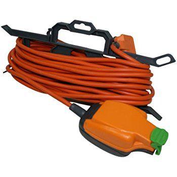 Masterplug Weatherproof Box with 4 Socket 10 m Extension Lead: Amazon.co.uk: DIY & Tools