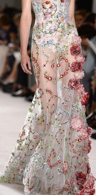 Giambattista Valli Haute Couture Fall 2013 www.partiespearlsandbeingprecious.com