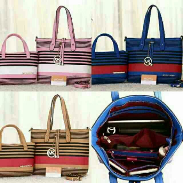#tas#tasmichaelkors #mkbag #mk  (245ribu) Boom Sale MK Shopper Linier 9988# Leather Quality SemiPremium# 28x11x25 (1,1kg)hcCantik, Bagus, Murah Bangat,  Ayo Buruan BB 5994f533 WA 085765037530/08566549554 Tokopedia Hasna Wakhid olshop FB Hasna Wakhid tas