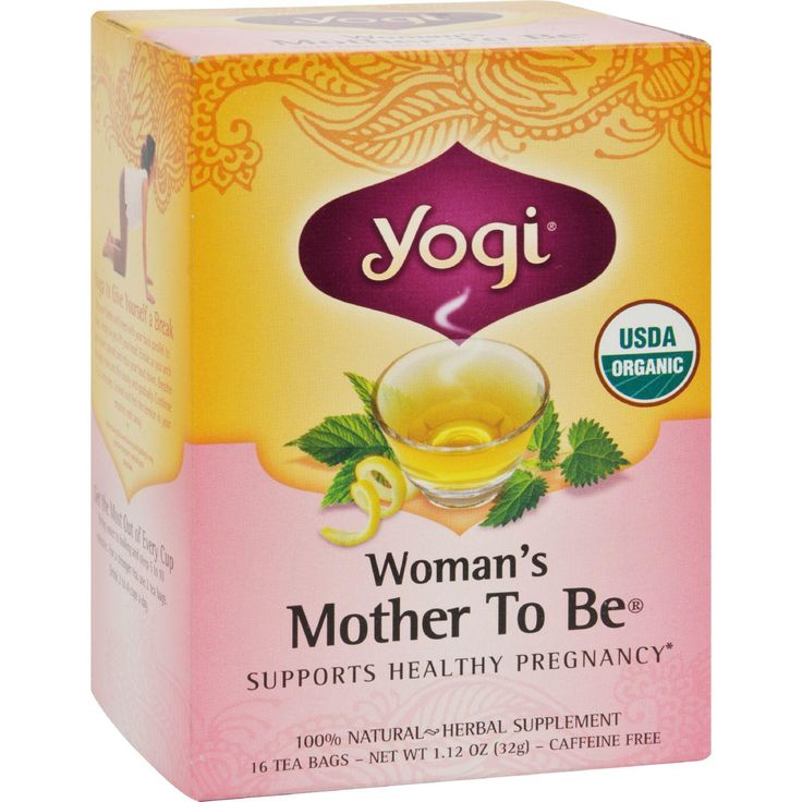 Yogi Organic Woman's Mother To Be Herbal Tea Caffeine Free - 16 Tea Bags - Case Of 6 - The Green Life