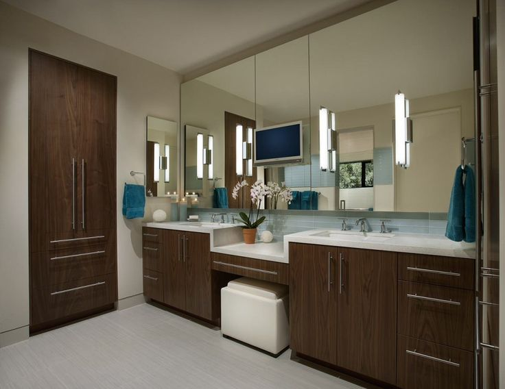 Modern Bathroom Lighting And Vanity Lighting Design Ideas, Pictures,  Remodel And Decor