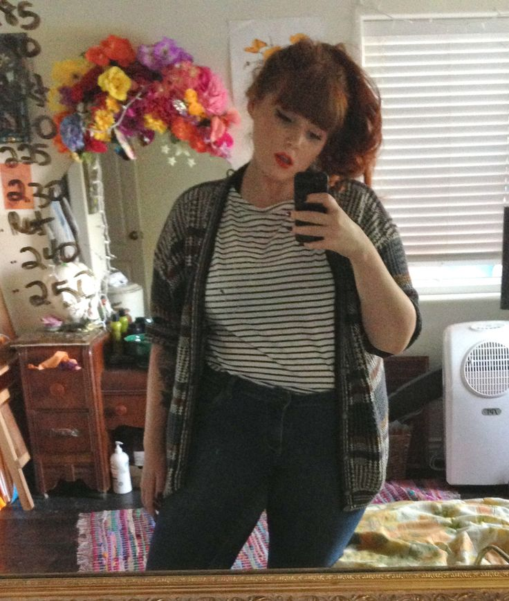 Me, Fat hipster girl accept