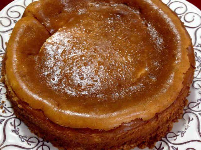 ずっしり濃厚!ベイクドチーズケーキの画像