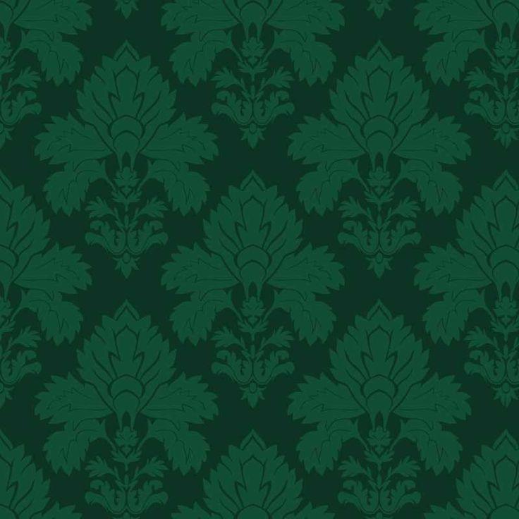 papel de pared vintage verde