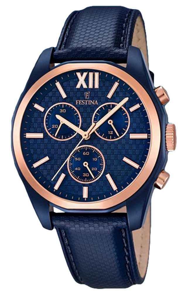 Reloj Festina hombre F16862/1 Cronógrafo