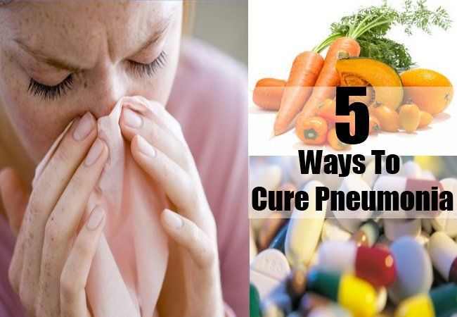 Ways To Cure Pneumonia