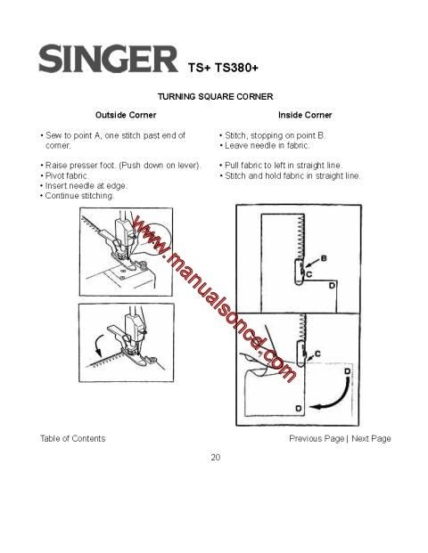 1405 best Sewing Machine Manuals images on Pinterest