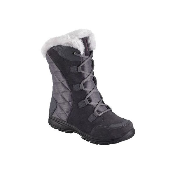 Women's Columbia Ice Maiden II (85 CAD) ❤ liked on Polyvore featuring shoes, casual, winter boots, waterproof shoes, waterproof winter boots, quilted shoes, columbia shoes and long winter boots