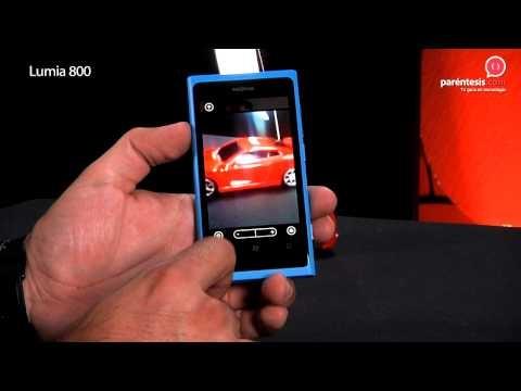 Celular Lumia 800 de Nokia