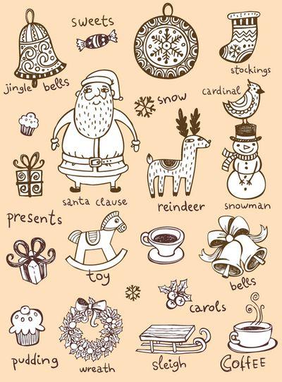 #christmas drawings