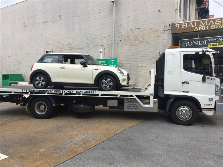 #Towing a Mini from BP Service Station on #Bondi Road #Bondi to Bridgestone Tyre Service in Curlewis Street #Bondi. For #car and #motorcycle #towing call #Eastern #Suburbs #Towing #Sydney on 0419466591. Check out our website @ www.easternsuburbstowingsydney.com.au   We provide #emergency #accident and #breakdown #towing #services for all leading #insurance #companies and the general public.
