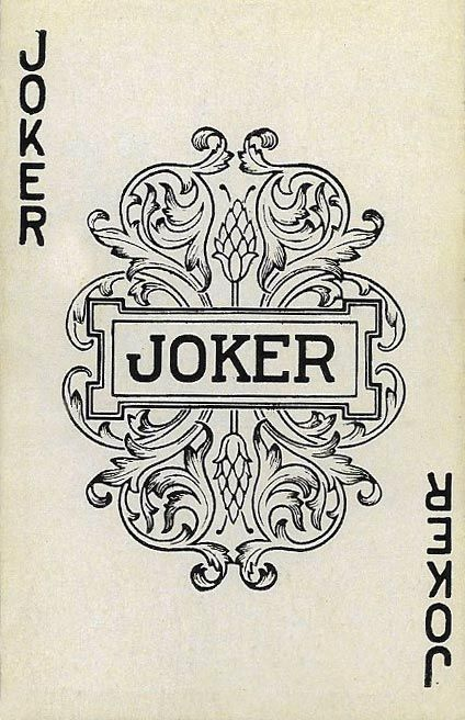 A joker card from the Watson Bros. Co. Inc. Bonded Transportation publicity playing card deck. The artwork on the front seems to be from the 1950′s. Some research put this company in Minnesota around then but I've also found earlier mentions dating...