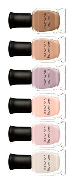 From pretty pinks, to natural nudes: this Deborah Lippman 'Undressed' set has shades for every mood.