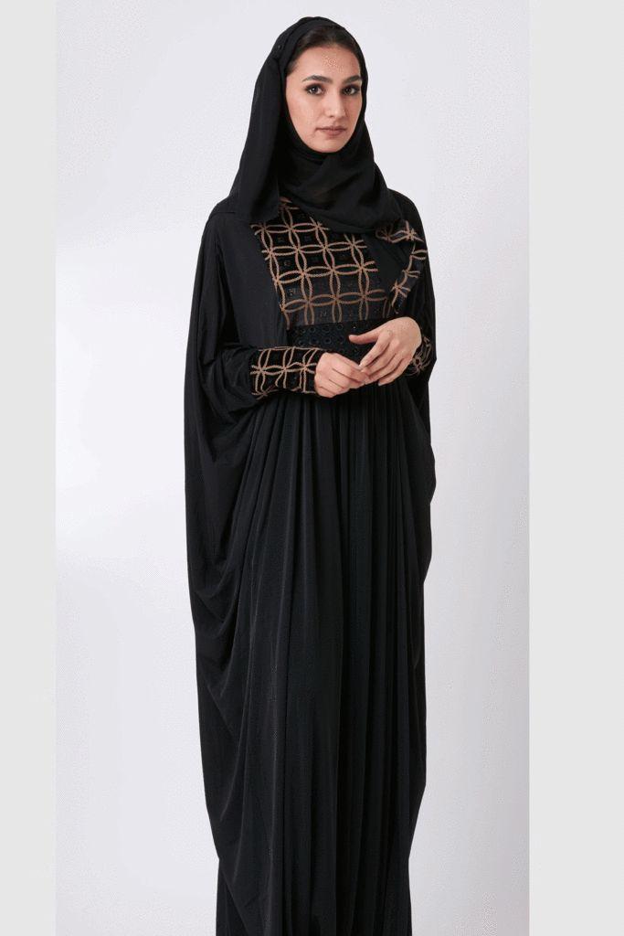 IMAN Abaya – Little Black Abaya