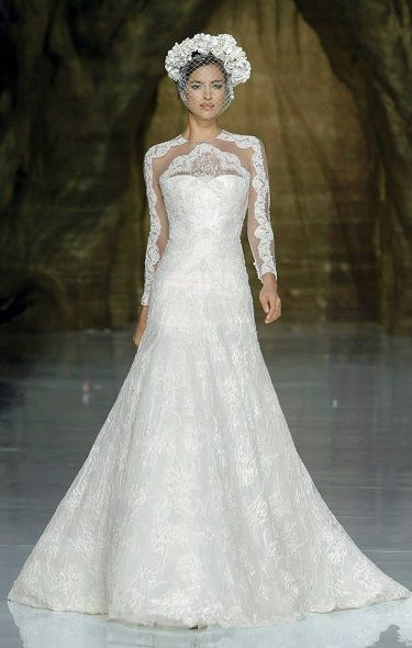 mariée, bride, mariage, wedding, robe mariée, wedding dress, white, blanc, pronovias 2014
